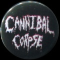 Placka 25 CANNIBAL CORPSE nápis