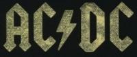 Nášivka AC/DC gold