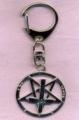 Klíčenka PENTAGRAM kříž obrácený