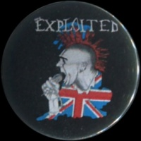 Placka 25 EXPLOITED punk invasion
