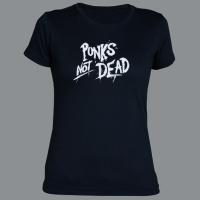Tričko PUNK´S NOT DEAD clas dámské