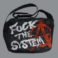 Taška FUCK THE SYSTEM áčko