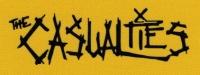 Nášivka CASUALTIES nápis žlutá