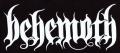 Zádovka BEHEMOTH nápis