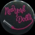 Placka 25 NEW YORK DOLLS