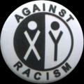 Placka 25 AGAINST RACISM