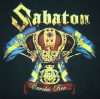 Zádovka SABATON rex