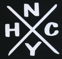 Nášivka HARDCORE New York