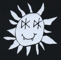 Nášivka DEAD KENNEDYS sun