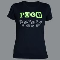 Tričko POGO green dámské
