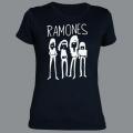 Tričko RAMONES band dámské