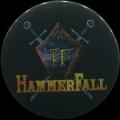 Placka 37 HAMMERFALL silver