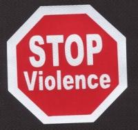 Nášivka STOP VIOLENCE