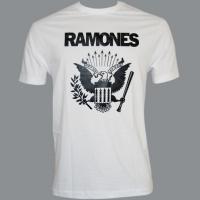 Tričko RAMONES orlice white