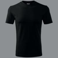 Tričko bez potisku ADLER černé