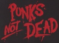 Zádovka PUNK´S NOT DEAD clas red