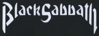 Zádovka BLACK SABBATH nápis
