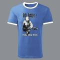 Tričko DO ŘADY! punk rock blue