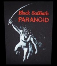 Zádovka BLACK SABBATH paranoid zoid