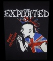 Zádovka EXPLOITED punk invasion zoid