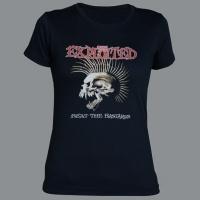 Tričko EXPLOITED bastards skull fruit dámské