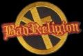 Nášivka BAD RELIGION vyšívaná zažehlovací