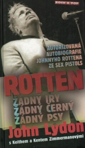 Kniha ROTTEN John Lydon