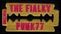 Nášivka THE FIALKY žlutá vyšívaná zažehlovací