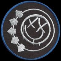 Nášivka BLINK 182 vyšívaná zažehlovací