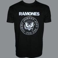 Tričko RAMONES retro hm
