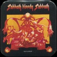 Placka 37x37 BLACK SABBATH sabbath bloody sabbath