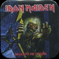 Placka 37x37 IRON MAIDEN no prayer for the dying