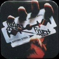 Placka 37x37 JUDAS PRIEST British steel