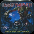 Placka 37x37 IRON MAIDEN final frontier