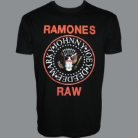 Tričko RAMONES raw red hm
