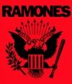 Zádovka RAMONES orlice red