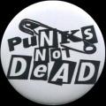 Placka 32 PUNKS NOT DEAD sichr