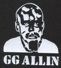 Nášivka GG ALLIN