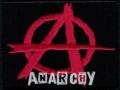 Nášivka ÁČKO anarchy nápis vyšívaná zažehlovací