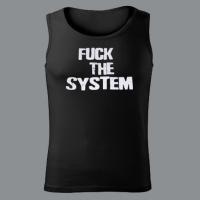 Tílko FUCK THE SYSTEM