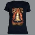 Tričko AC/DC hells bells dámské