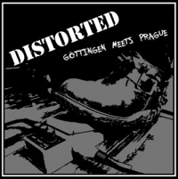 LP - DISTORTED Göttingen meets Prague kompilace