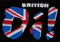 Nášivka OI British vyšívaná