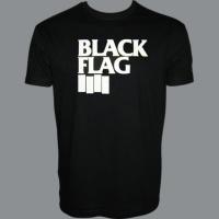 Tričko BLACK FLAG