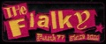 Nášivka THE FIALKY punk 77 růžová vyšívaná zažehlovací