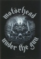 Vlajka MOTÖRHEAD under the gun