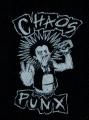 Nášivka CHAOS PUNX punker