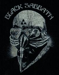 Nášivka BLACK SABBATH mask