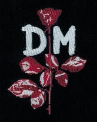 Nášivka DEPECHE MODE rose