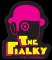 Samolepka THE FIALKY clockwork pink